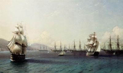 Яхтинг на Тендре